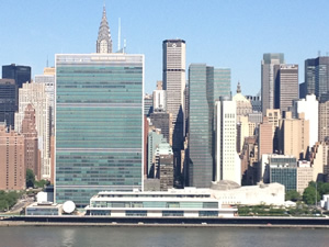 'What You See' from Hunter's Point South - The United Nations