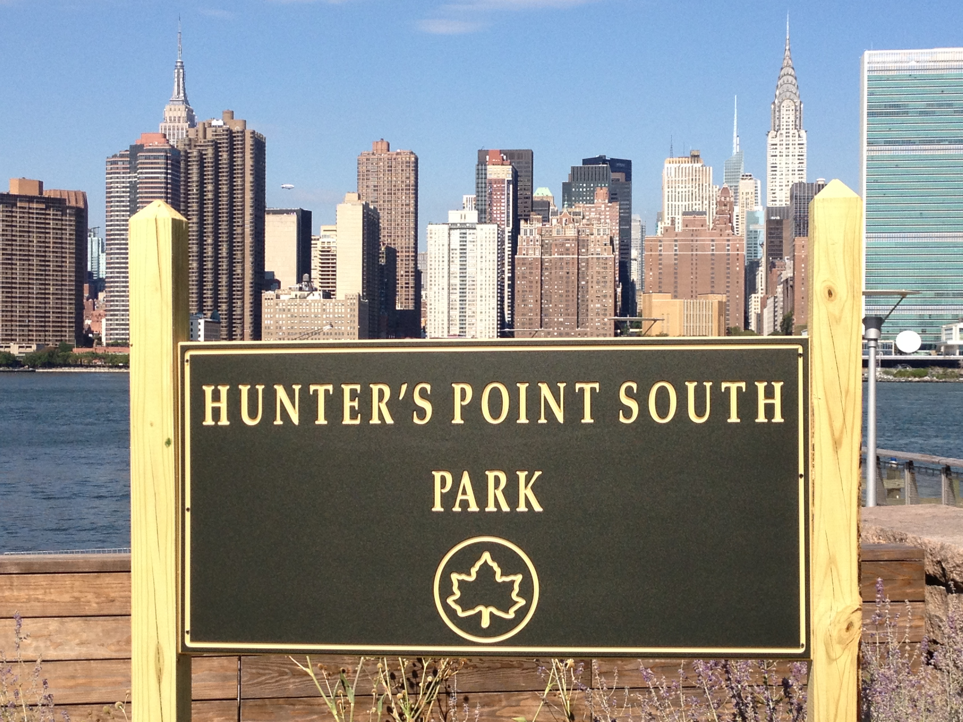Hunter's Point - Great waterfront location in LIC for viewing the New York skyline
