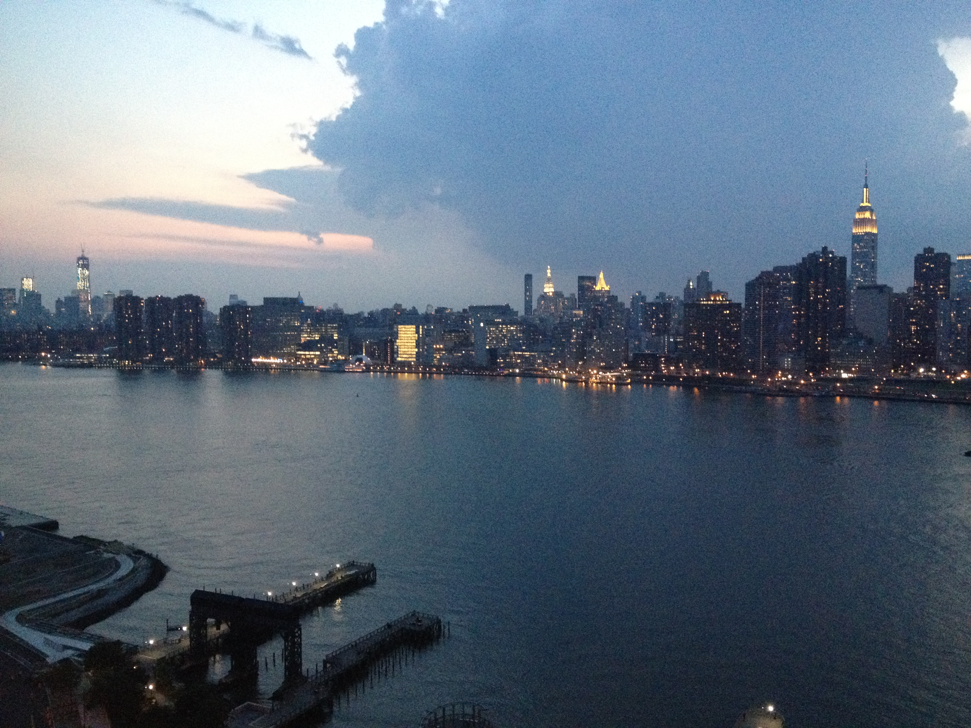 New York Skyline - Spectacular views from Hunter's Point South