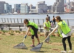 Gardening at Gantry State Park and Hunters Point Park Saturday, June 13