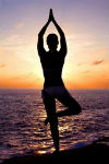 Waterfront Yoga in August - Mondays and Saturdays at 6:30 PM *
