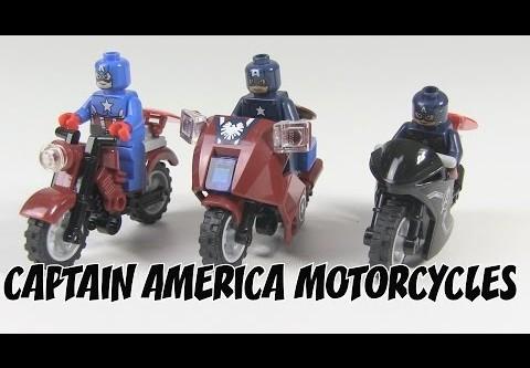LEGO Marvel Captain America's Motorcycles